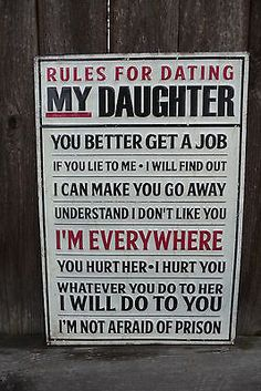 fathers rules for dating his daughter
